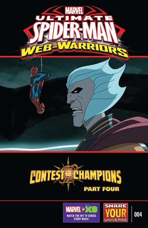 Marvel Universe Ultimate Spider-Man – Web-Warriors – Contest of Champions #4