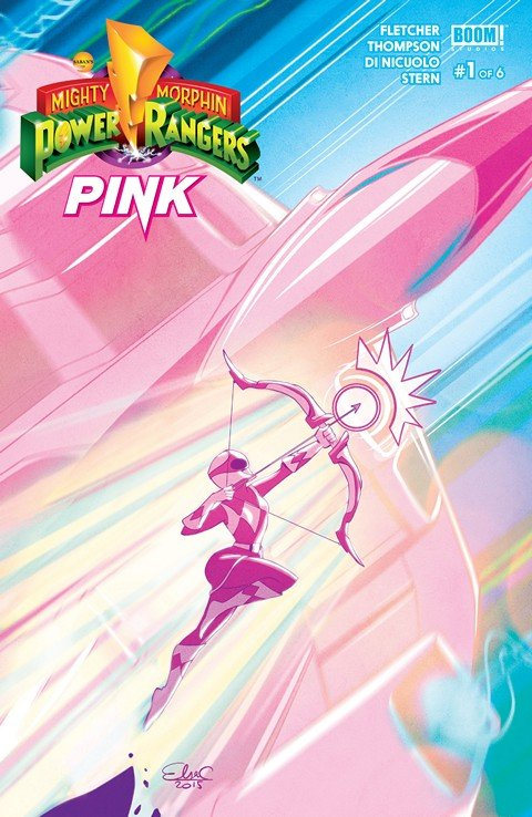 Mighty Morphin Power Rangers – Pink #1