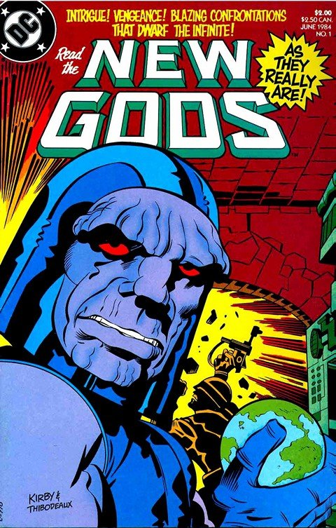 New Gods Vol. 2 #1 – 6 (1984)