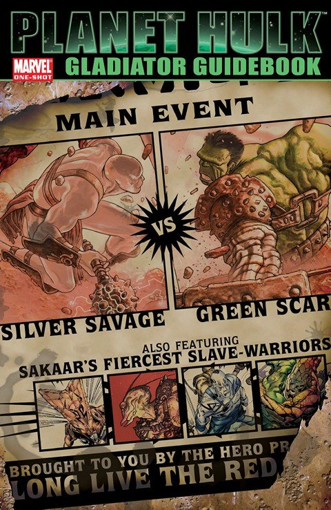 Planet Hulk – Gladiator Guidebook