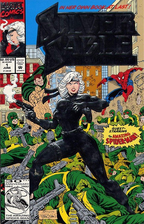 Silver Sable & The Wild Pack #1 – 35 (1992-1995)