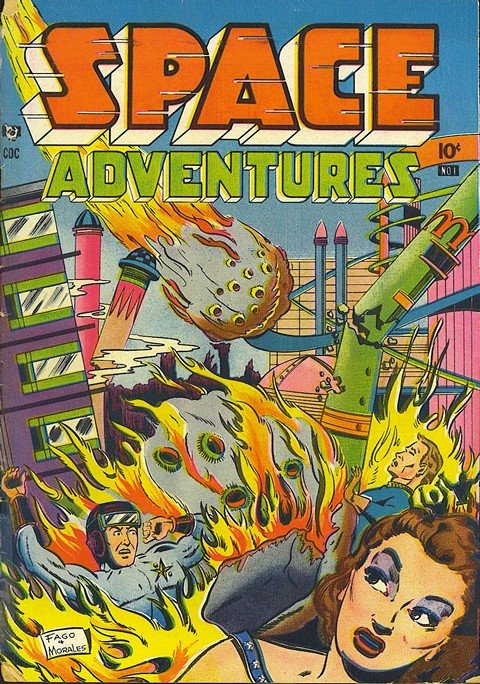 Space Adventures Vol. 1 – 5 (Collection)