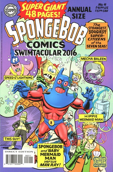 SpongeBob Comics Annual – Size Super-Giant Swimtacular #4
