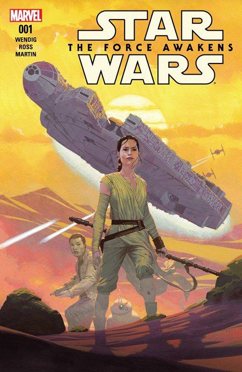 Star Wars – The Force Awakens Adaptation #1
