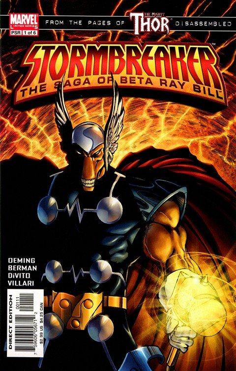 Stormbreaker – The Saga of Beta Ray Bill #1 – 6 (2005)