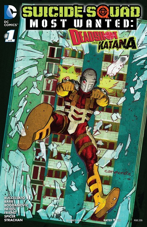 Suicide Squad Most Wanted – Deadshot and Katana #1 – 6 (2016)