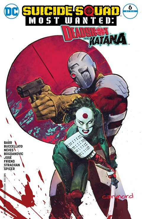Suicide Squad Most Wanted – Deadshot and Katana #6