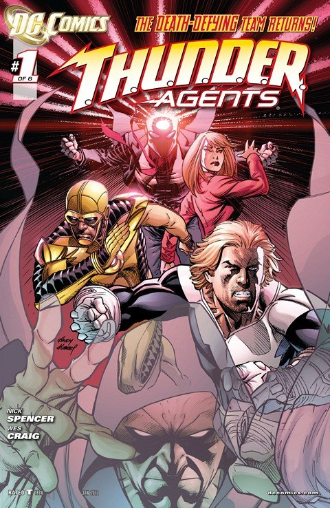 T.H.U.N.D.E.R. Agents #1 – 6 (2012)