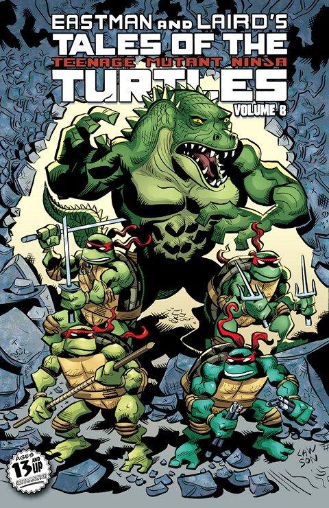 Tales of the Teenage Mutant Ninja Turtles Vol. 8