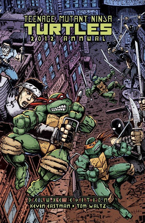 Teenage Mutant Ninja Turtles 2012 Annual (Deluxe Edition)