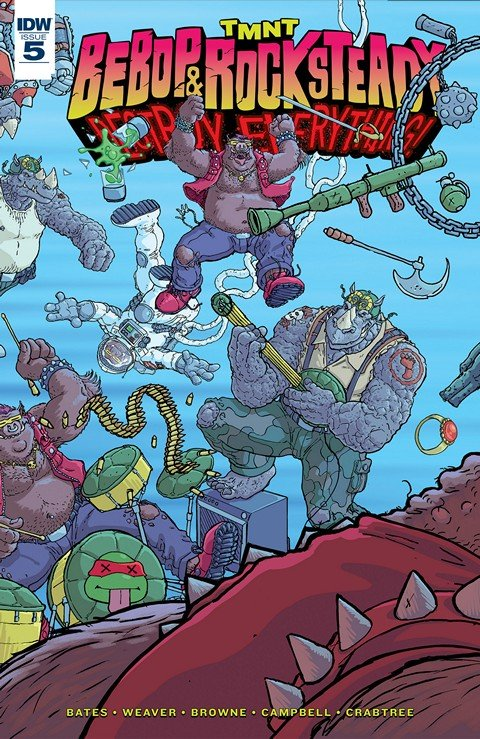 Teenage Mutant Ninja Turtles – Bebop & Rocksteady Destroy Everything #1 – 5