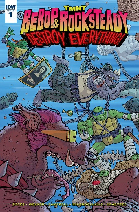 Teenage Mutant Ninja Turtles – Bebop & Rocksteady Destroy Everything #1