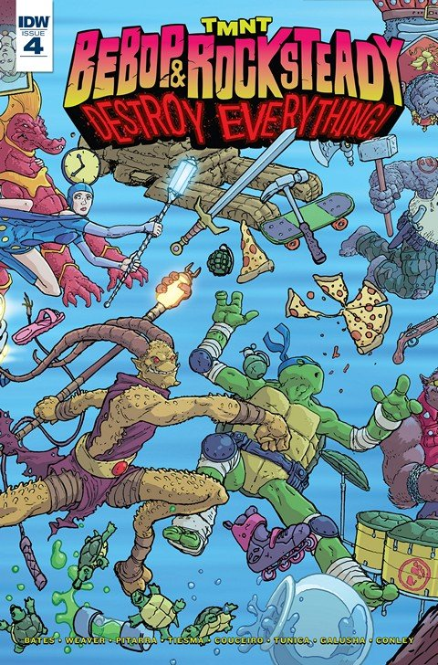 Teenage Mutant Ninja Turtles – Bebop & Rocksteady Destroy Everything #4