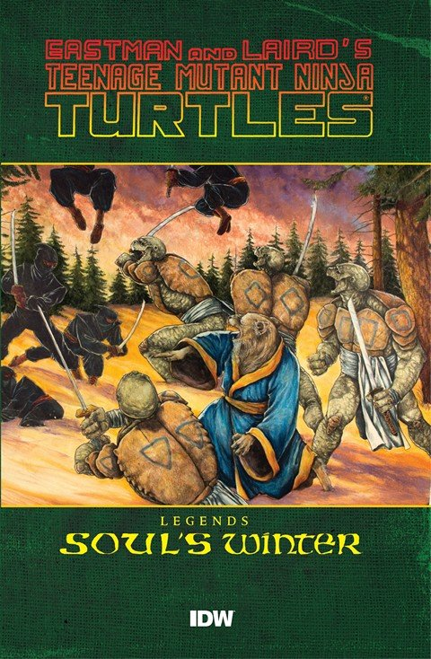 Teenage Mutant Ninja Turtles Legends – Soul's Winter