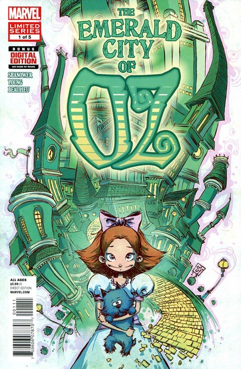 The Emerald City of Oz #1 – 5
