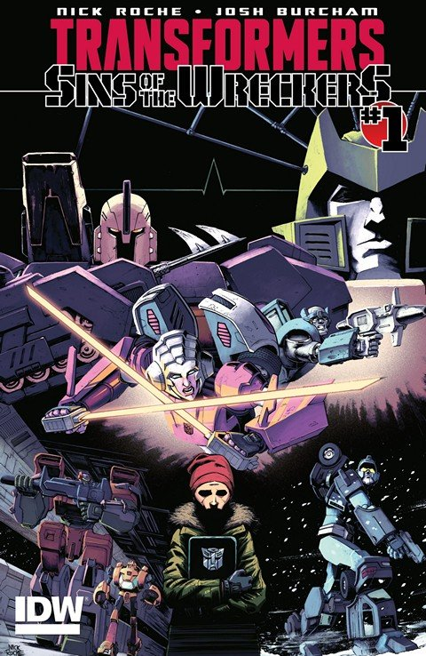 Transformers Sins Of The Wreckers #1 – 5