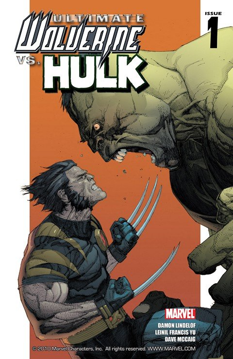Ultimate Wolverine vs. Hulk #1 – 6