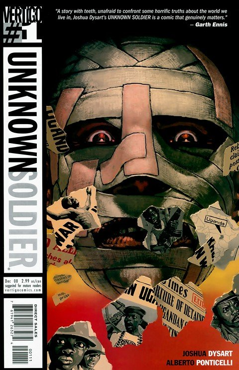 Unknown Soldier #1 – 25 (2008-2010)
