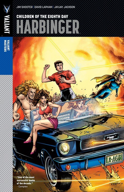 Valiant Masters – Harbinger Vol. 1 – Children of the Eighth Day