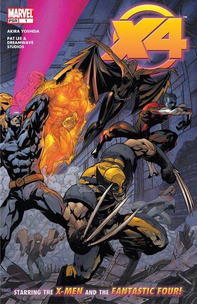 X-Men – Fantastic 4 #1 – 5 (2005)