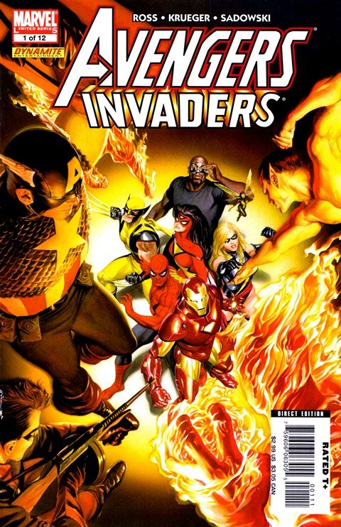 Avengers Invaders #1 – 12