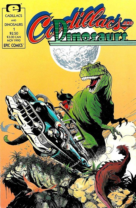 Cadillacs and Dinosaurs Vol. 1 #1 – 6