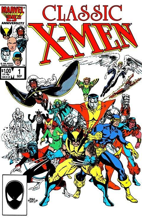 Classic X-Men #1 – 45 (1986-1990)