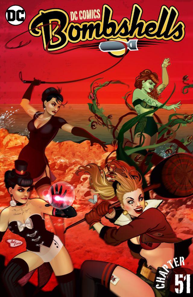 DC Comics – Bombshells #51