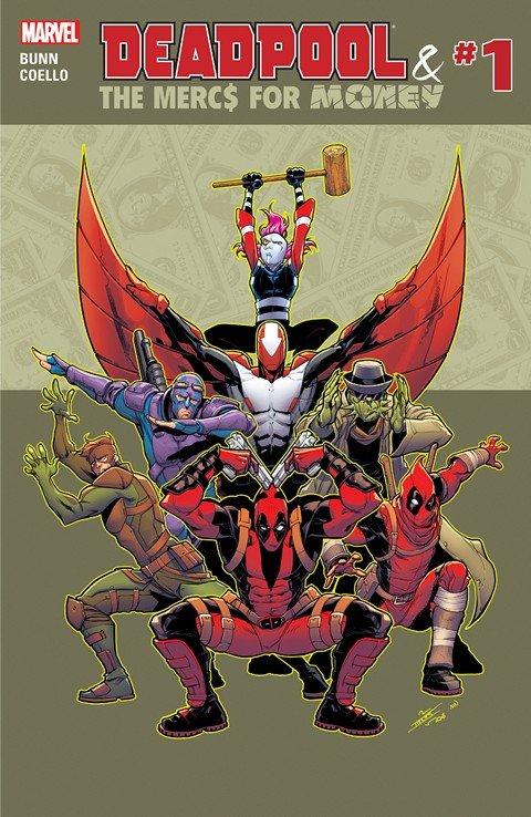 Deadpool & the Mercs for Money #1