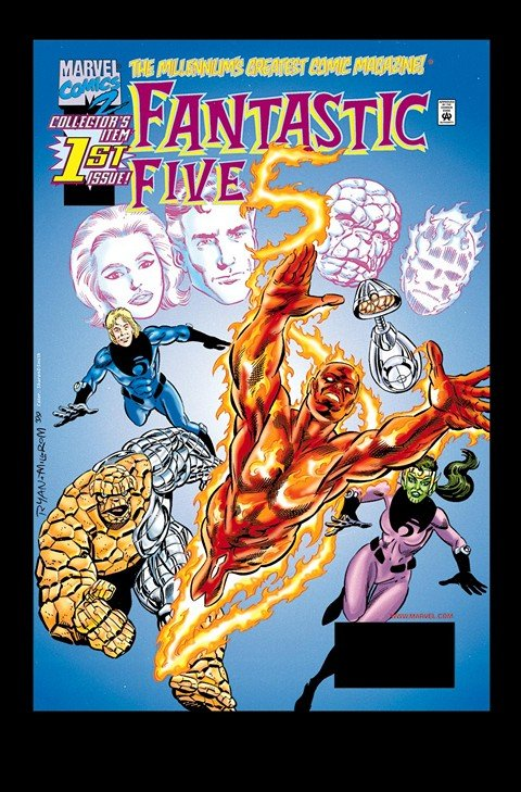 Fantastic Five #1 – 5