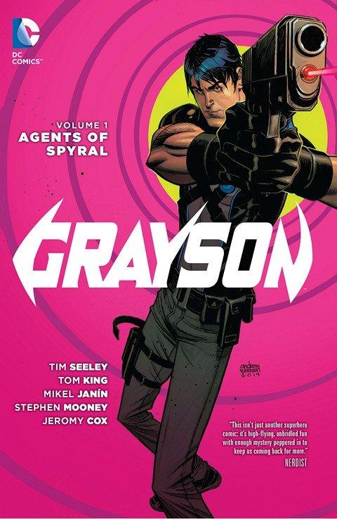 Grayson #1 – 20 + Annual + TPB + Future End (2014-2016)