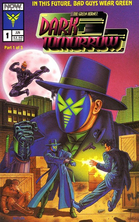 Green Hornet – Dark Tomorrow #1 – 3