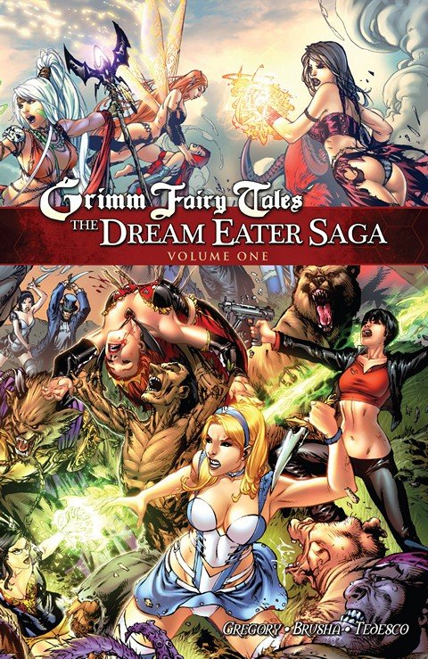 Grimm Fairy Tales – The Dream Eater Saga Vol. 1 – 2