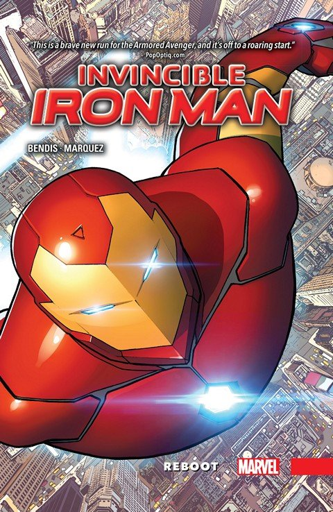 Invincible Iron Man Vol. 1 – Reboot (TPB)