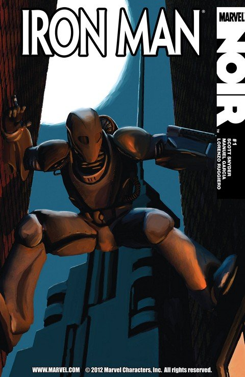 Iron Man Noir #1 – 4