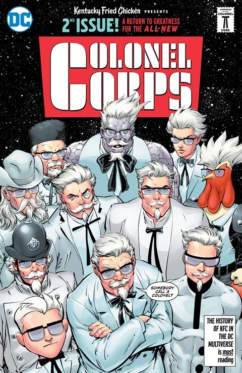 KFC – Crisis of Infinite Colonels