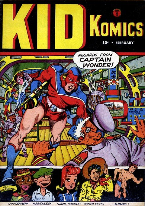 Kid Komics #1 – 10 + Kid Movie Komics #11