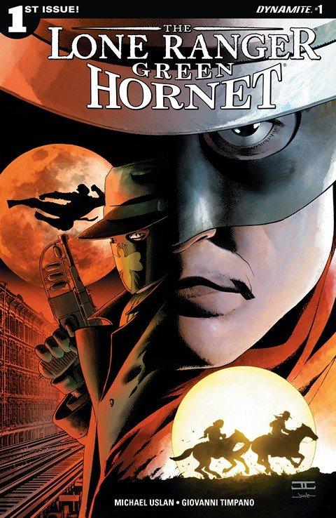 Lone Ranger – Green Hornet #1