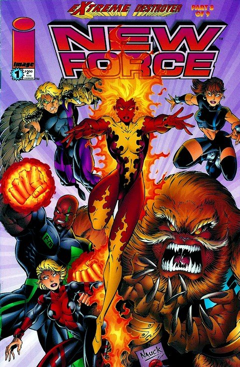 New Force #1 – 4