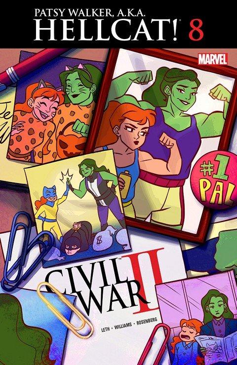 Patsy Walker – A.K.A. Hellcat! #8