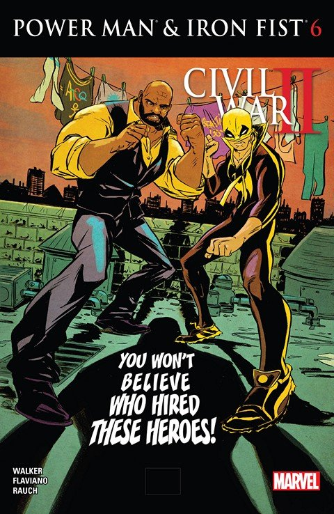 Power Man and Iron Fist #6