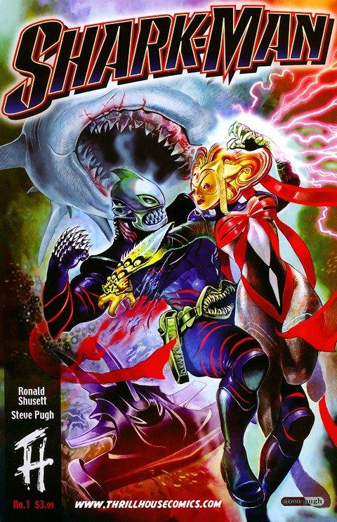 Shark-Man Vol. 1 #1 – 2