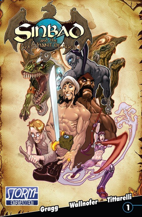 Sinbad And The Merchant Of Ages #1