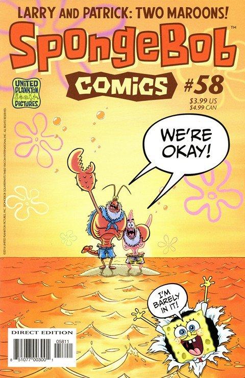 SpongeBob Comics #58