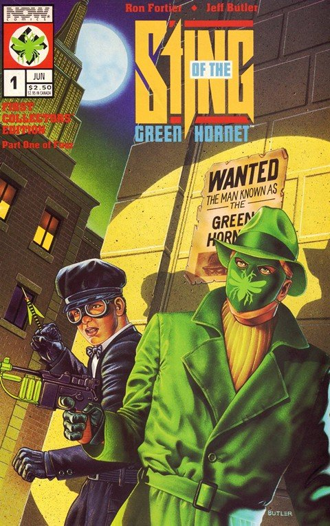 Sting of the Green Hornet #1 – 4