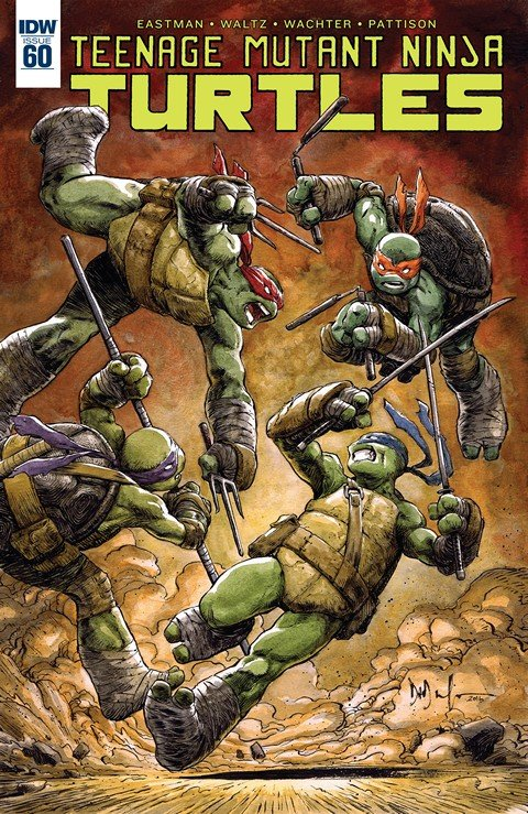 Teenage Mutant Ninja Turtles #60