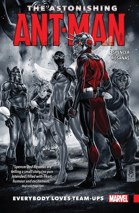 The Astonishing Ant-Man Vol. 1 – Everybody Loves Team-Ups
