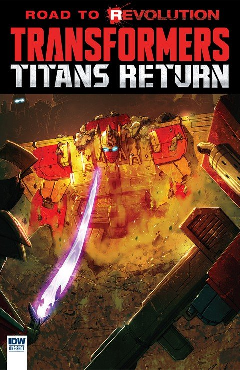 The Transformers – Titans Return (2016)
