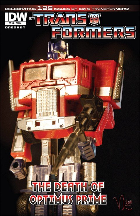 Transformers – Death of Optimus Prime #1