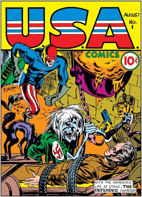 USA Comics #1 – 13 + 15 – 17 + 70th Anniversay Special